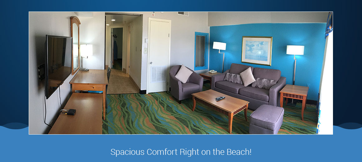 The Dolphin Inn Hotel An All Suite Va Beach Located By Ocean And Boardwalk
